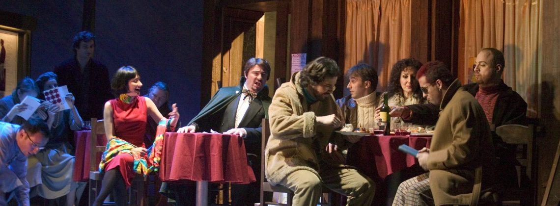 La Bohème. Opera Ireland. Act II. Copyright Patrick Redmond